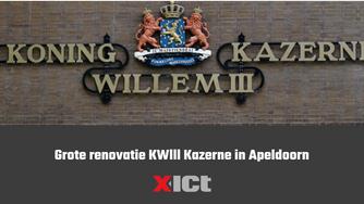 Grote renovatie KWlll Kazerne in Apeldoorn