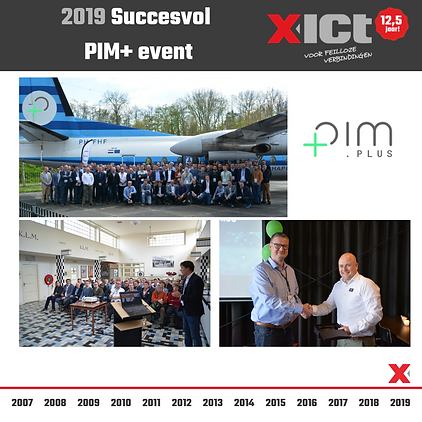 X-ICT 12,5 jaar - Succesvol PIM event 20