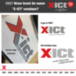 X-ICT 12,5 jaar - De naam X-ICT (2007) (