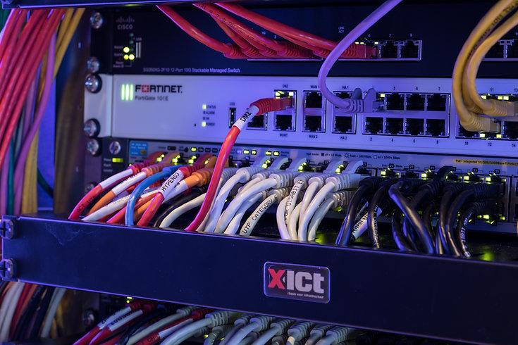 Netwerkbekabeling X-ICT