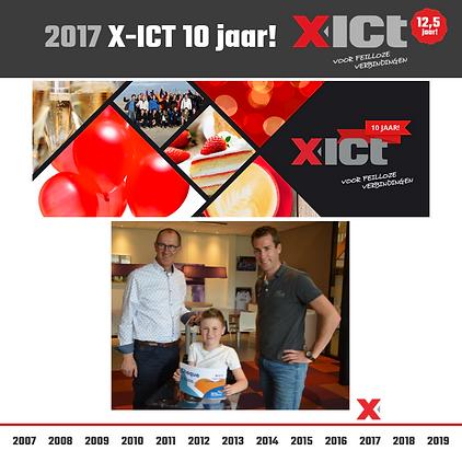 _X-ICT 12,5 jaar - X-ICT bestaat 10 jaar