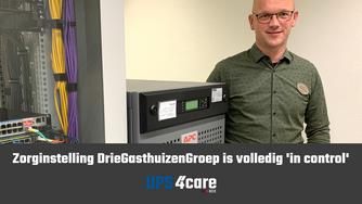 Zorginstelling DrieGasthuizenGroep is volledig 'in control' als het gaat om UPS-systemen