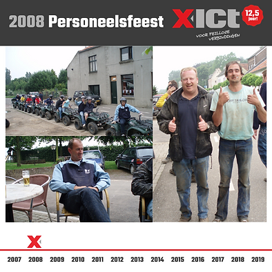 X-ICT 12,5 jaar - Personeelsfeest 2008.p