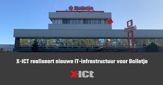 X-ICT realiseert nieuwe IT-infrastructuur voor Bolletje
