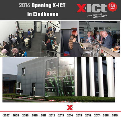 X-ICT 12,5 jaar - Opening X-ICT in Eindh