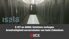 X-ICT en ANSUL Solutions verhogen brandveiligheid serverruimtes van Isala Ziekenhuis