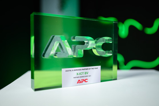 APC Partner Award 2021'Digital & Services partner of the Year'