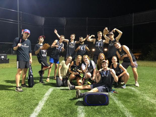 Fall '19 Softball Team