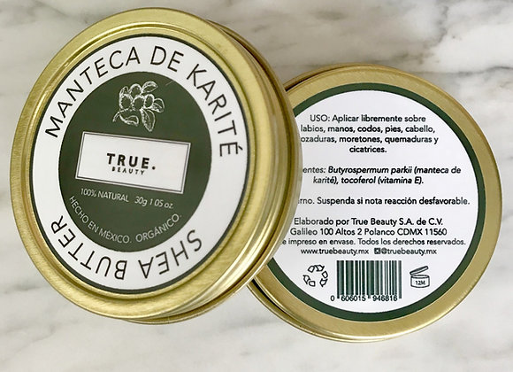 Manteca karité orgánica