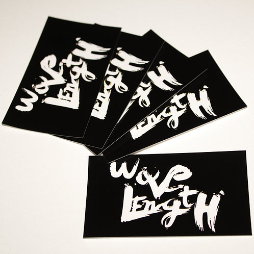 Wavelength Stickers Pack