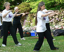 Tai Chi Old Town Gardens Swindon