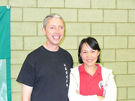 Graham Pritchrd and Faye Yip