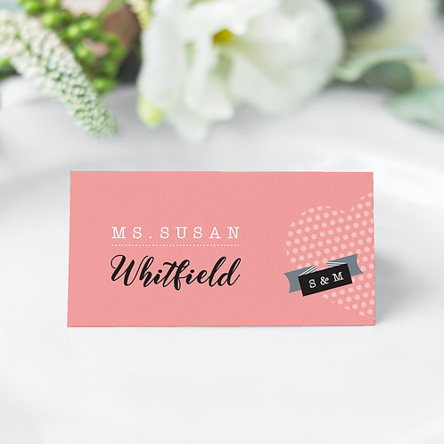 Dotty Guest Name Cards