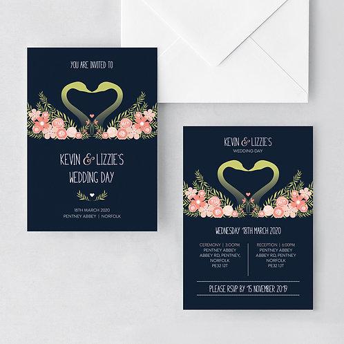 Flora Elegance Invitation