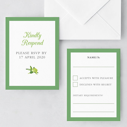 Bare Botanical RSVP
