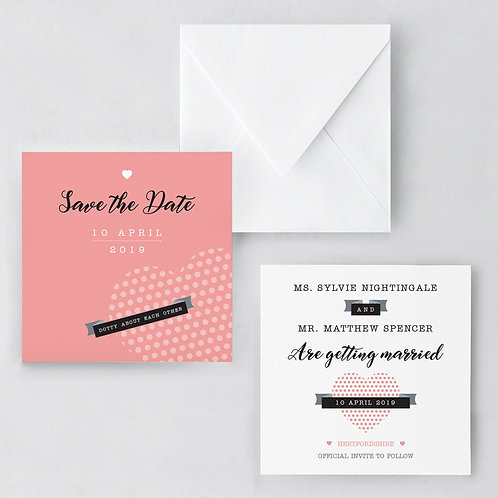 Dotty Save The Date