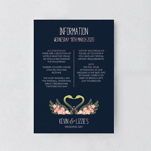 Flora Elegance Information Card