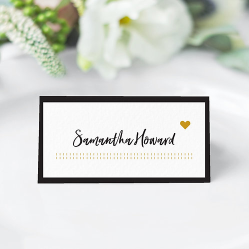 Impression Guest Name Cards