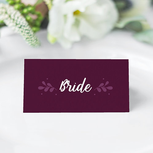 Primavera Guest Name Cards