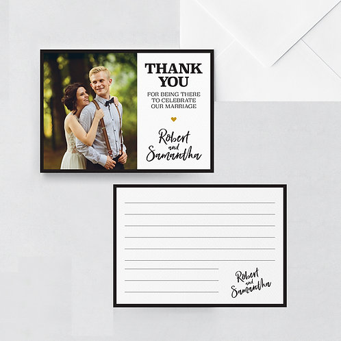 Impression Thank You Card