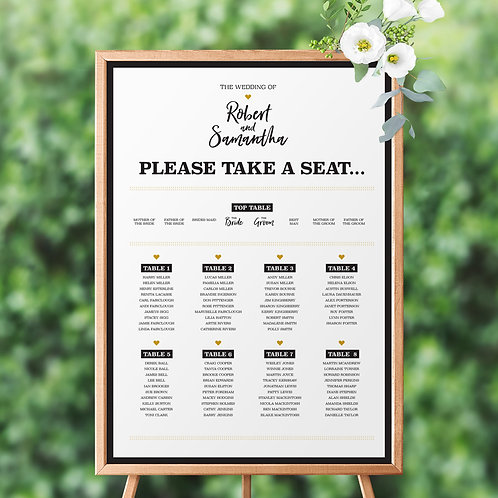 Impression Table Plan