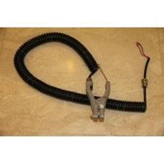 Проводник заземления спирального типа с зажимом