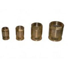 Клапан приемный сетчатый латунный КПЛ-40