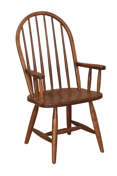 6 Spindle Arm Chair