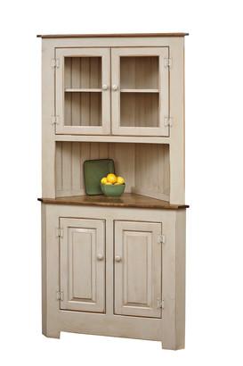 Ex. Large Corner Cabinet w/Glass
