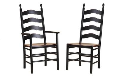 Ladder Back Side/Arm Chair
