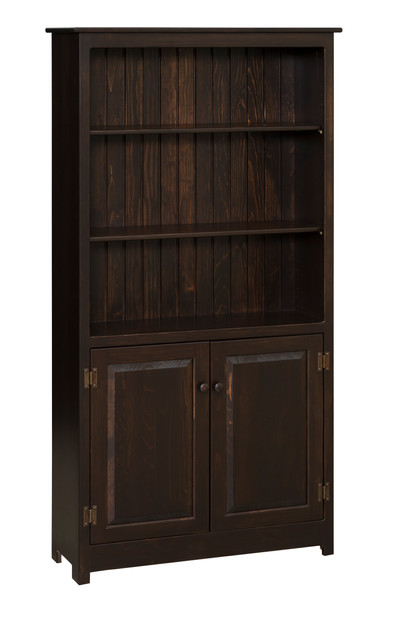 6ft. Bookcase With Doors