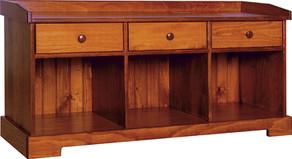 Bench w/ Drawers