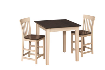 Solid Top Farm Table