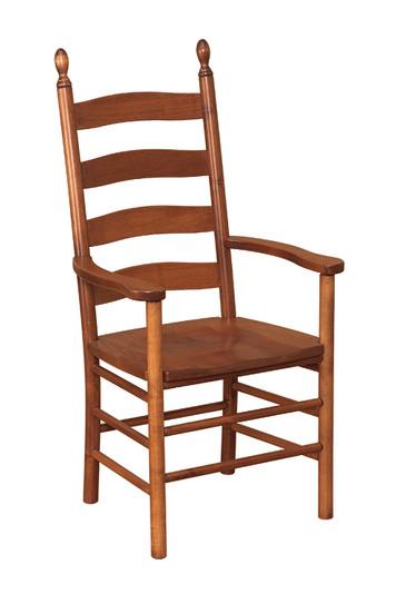Shaker Ladder Back Arm Chair