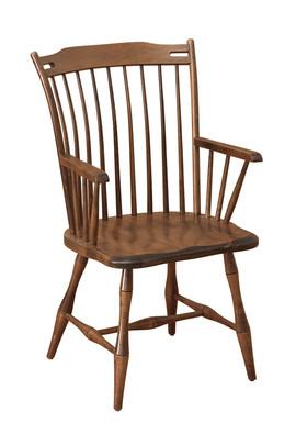 Thumb Back Arm Chair