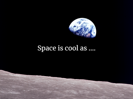 Space is cool as sending people to the freakin Moon for the first time 50 years ago