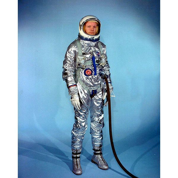 high-altitude/vacuum suit used for Project Mercury (1961–1963)