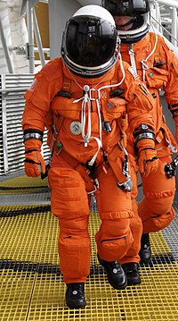 s a full-pressure suit worn by all Space Shuttle crews for the ascent and entry portions of flight from 1994 using pressure suits worn by SR-71 Blackbird and the Launch entry Suit designs; When NASA was looking at flying ACES aboard Orion for the asteroid redirect mission, the plan was to upgrade the ACES to the MACES with modified gloves, a thermal and micrometeoroid outer garment and a portable life support system to perform just a couple of extravehicular activities (EVAs)