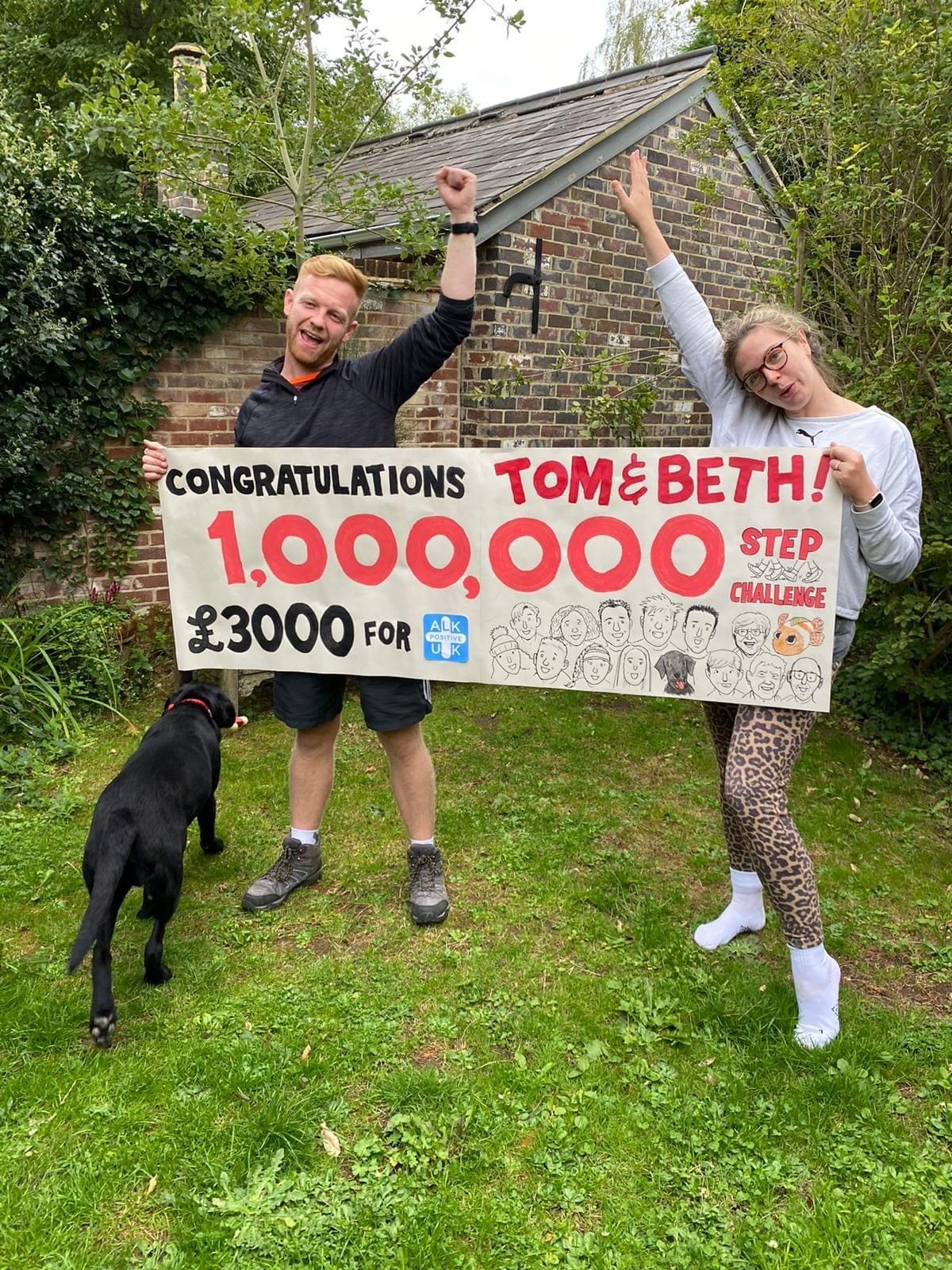 Tom & Beth - 1M steps