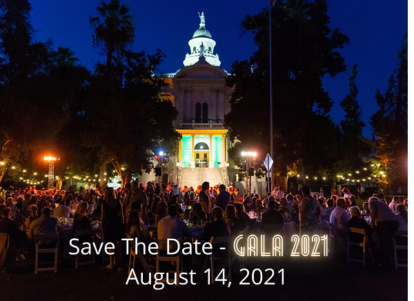 Save The Date - Gala 2021 August 14, 202