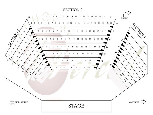 Playhouse Merced seating chart