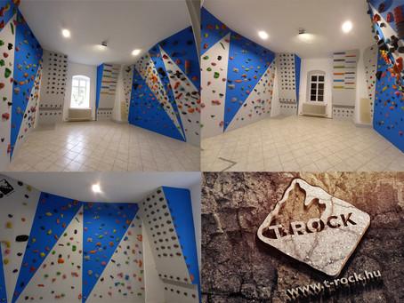 T-ROCK boulder falépítés | Hódmezővásárhely
