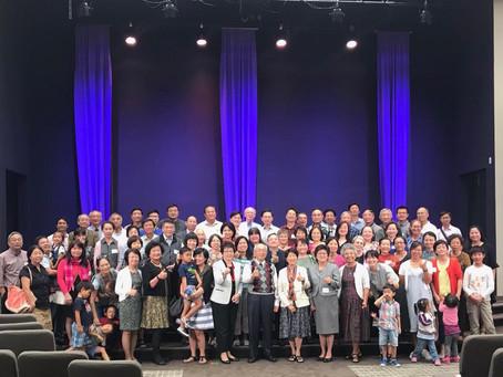 Now Rev.Liu 80 year old celebration !