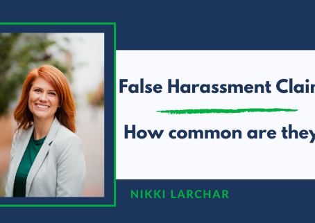False sexual harassment claims - how common are they?