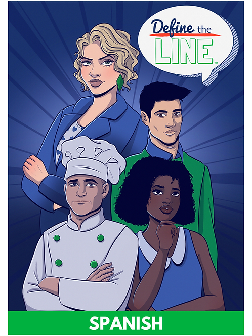 Define the Line Digital Comic Book (Spanish Version)