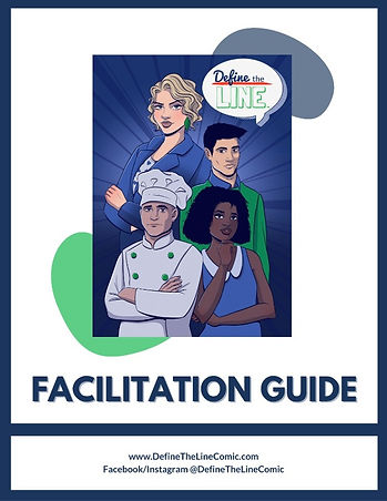 Define the Line harassment prevention facilitation guide cover