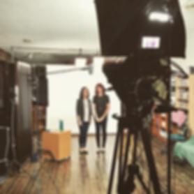 Tina and Nikki Video recording.jpg