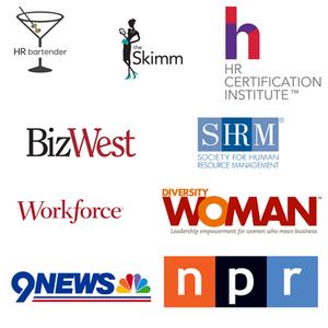 Publications Define the Line has been featured in. HR bartender, The Skimm, Bizwest, SHRM, Workforce Magazine, Diversity Woman, NPR