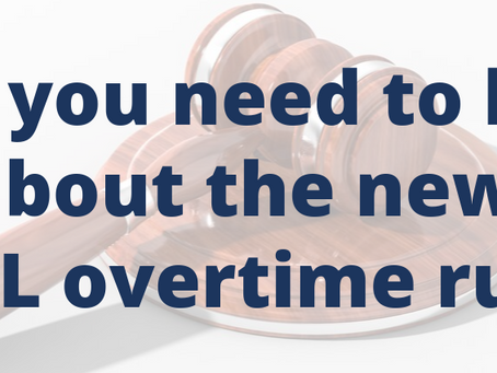 What you need to know about the DOL Overtime Rule