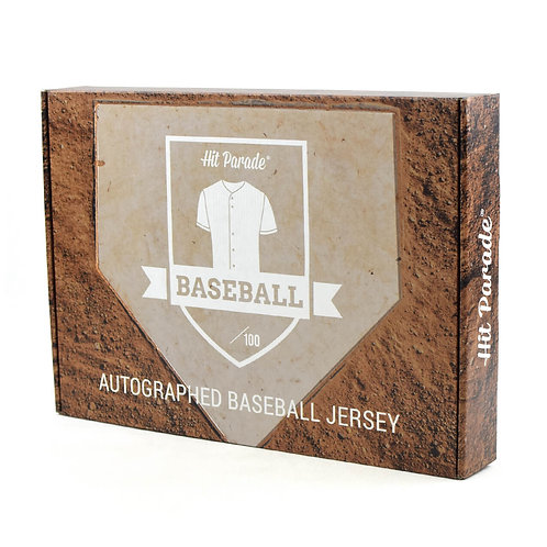 Autographed Baseball Jersey